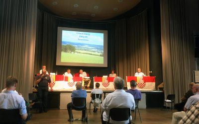Podiumsdiskussion Tourismus